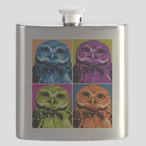 Pop Owl Flask