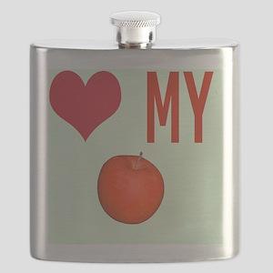 Love My Apple iPhone 4 Slider Case Flask