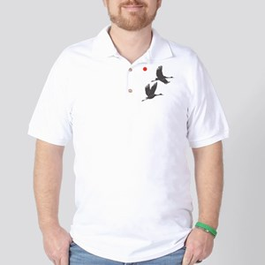 Soaring Cranes Golf Shirt