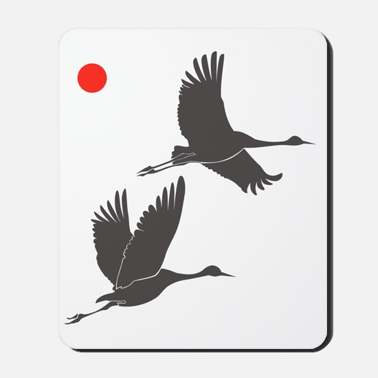 Soaring Cranes Mousepad