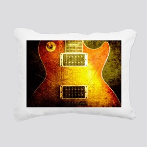 vintage-les-paul2 Rectangular Canvas Pillow