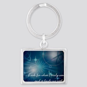 what_i_want-112011 Landscape Keychain