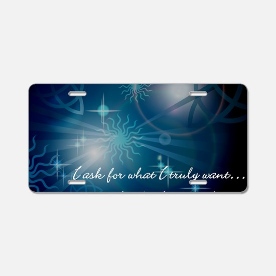 what_i_want-112011 Aluminum License Plate