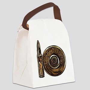Corrections Bullet Canvas Lunch Bag