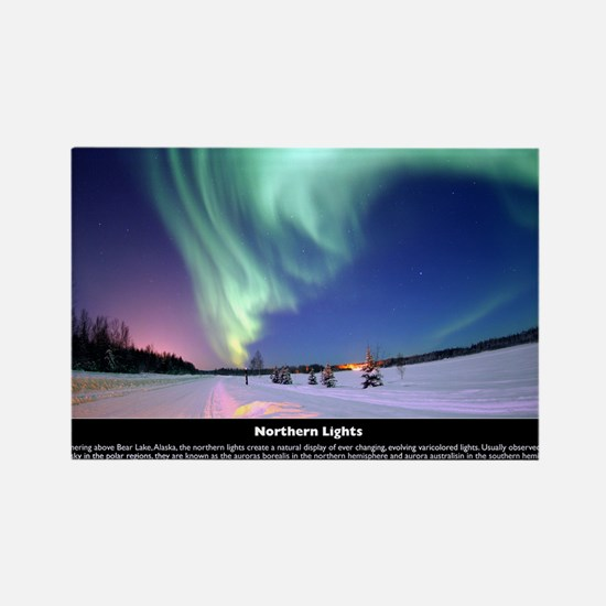 Northern_Lights_full Rectangle Magnet