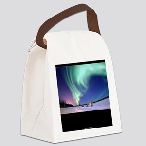 Northern_Lights_no-title Canvas Lunch Bag
