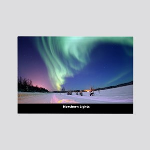 Northern_Lights_no-text Rectangle Magnet