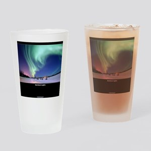 Northern_Lights_no-text Drinking Glass