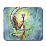 Art fairies moon Classic Mousepad
