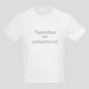 Vegetarians are animals in be Kids T-Shirt
