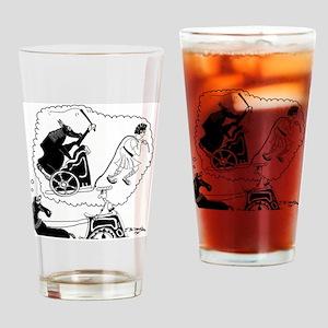 8343_roman_cartoon Drinking Glass