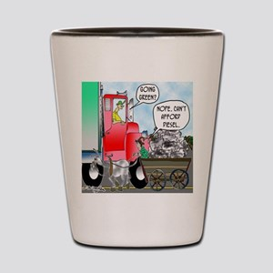 8520_diesel_cartoon Shot Glass