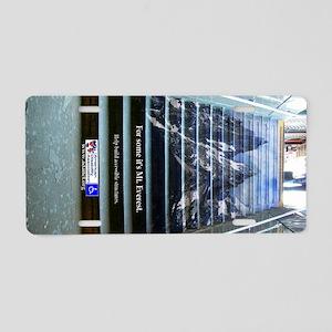Mteverest_md_l Aluminum License Plate