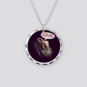 Dev_Coffee Necklace Circle Charm