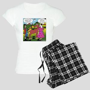 2838_horse_cartoon Women's Light Pajamas