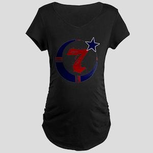 moorscience_clear Maternity Dark T-Shirt