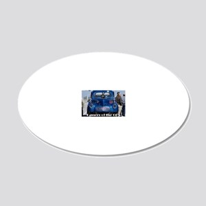 1200c 20x12 Oval Wall Decal