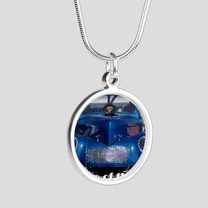 1200c Silver Round Necklace