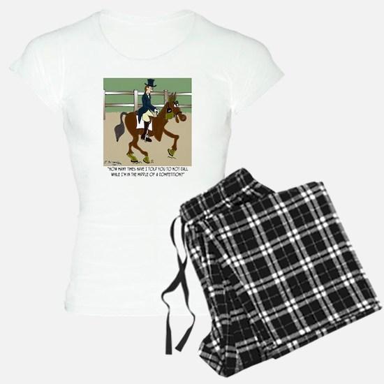 8191_horse_cartoon Pajamas