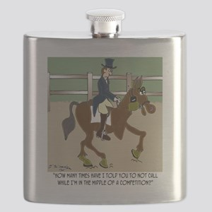 8191_horse_cartoon Flask