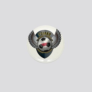 soccer_ball_crest_poland Mini Button