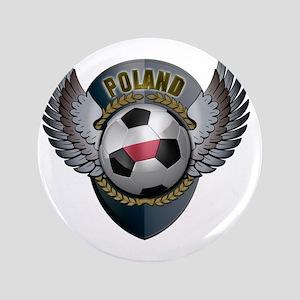 """soccer_ball_crest_poland 3.5"""" Button"""