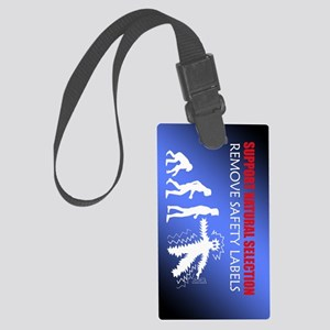 DarwinKindle Large Luggage Tag