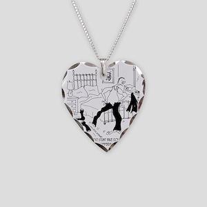 7091_bike_cartoon Necklace Heart Charm