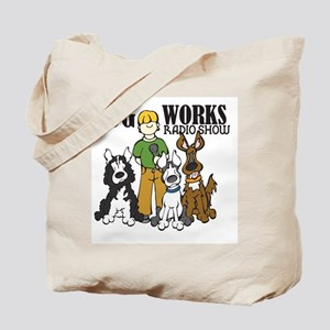logo-dog-works-radio-show Tote Bag