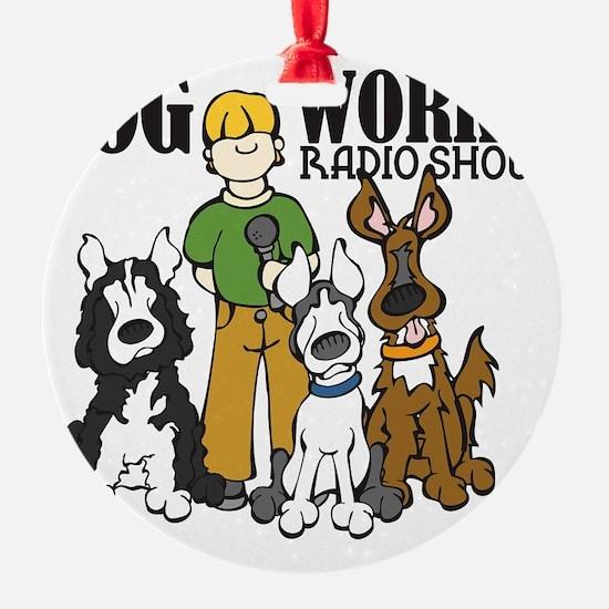 logo-dog-works-radio-show Ornament