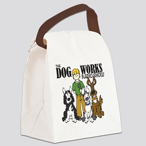 logo-dog-works-radio-show Canvas Lunch Bag