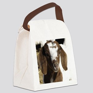 Cute kid goat Canvas Lunch Bag