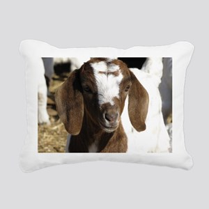 Cute kid goat Rectangular Canvas Pillow