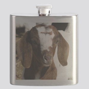 Cute kid goat Flask