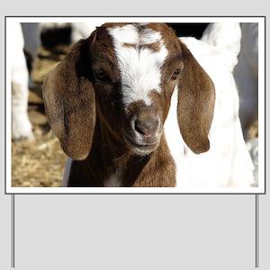 Cute kid goat Yard Sign