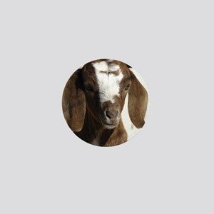 Cute kid goat Mini Button