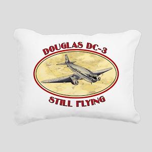 dc3shirt Rectangular Canvas Pillow