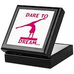 Gymnastics Keepsake Box - Dream