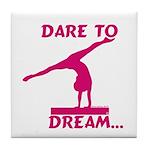 Gymnastics Tile Coaster - Dream