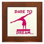 Gymnastics Framed Tile - Dream