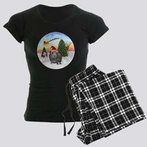 R-TakeOff-GuineaPig2 Women's Dark Pajamas