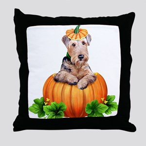 Dale-O-Lantern Throw Pillow