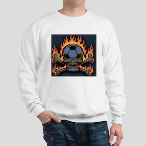 soccer-sk-flm-LG Sweatshirt