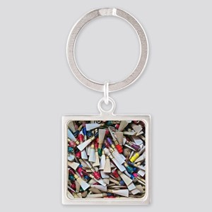 Reeds widest Square Keychain
