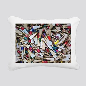 Reeds widest Rectangular Canvas Pillow