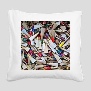 Reeds widest Square Canvas Pillow