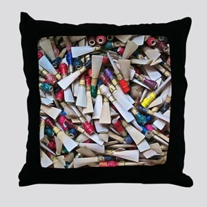 Reeds widest Throw Pillow