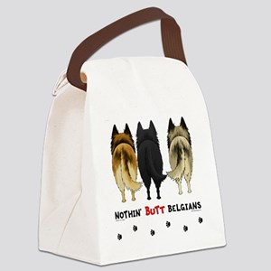 BelgianButtsNew Canvas Lunch Bag