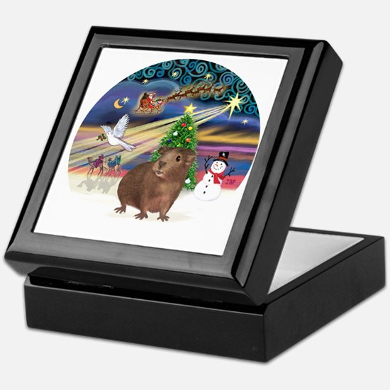 R-XmasMagic-GuineaPig3 Keepsake Box