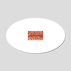 external_circumstances-11201 20x12 Oval Wall Decal
